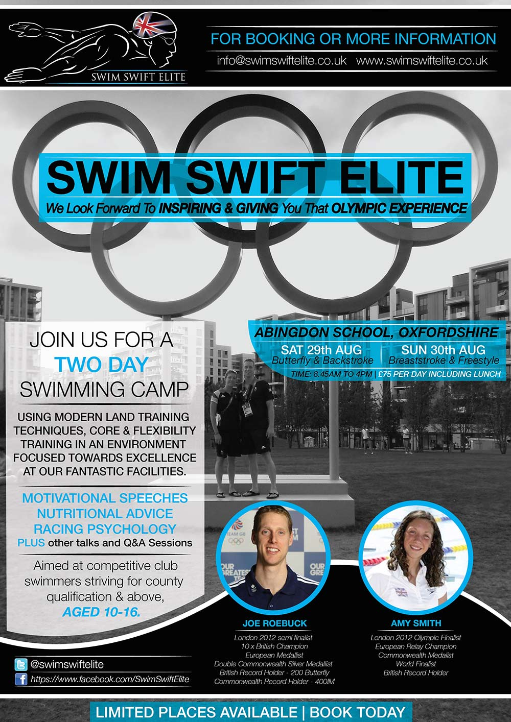 swim camps uk