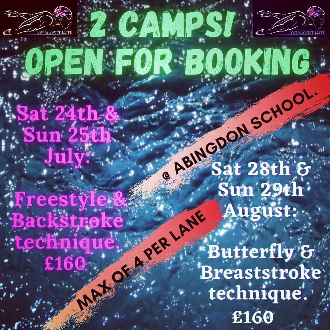 Swim Camps July 2021